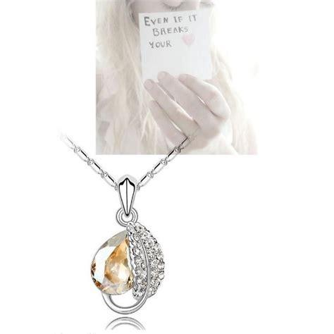 Kalung Choker Silver Pria Wanita acacia leaves necklace 925 sterling silver kalung wanita jakartanotebook