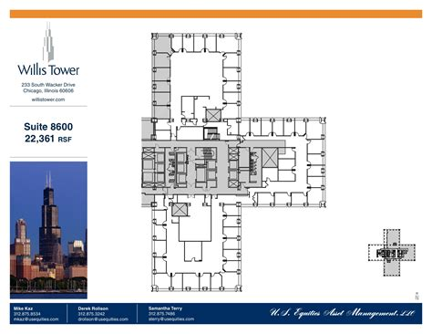 willis tower floor plan willis tower floor plans chicago il usa