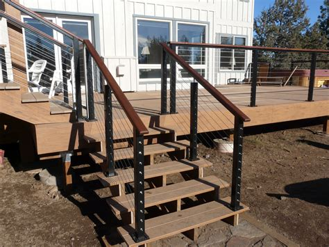 banister guard home depot deck cable railing systems home depot american hwy