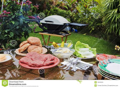 backyard bar b que backyard bar b que royalty free stock image image 13916916