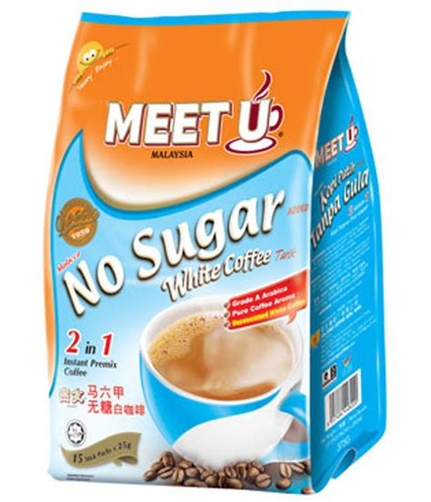 Meet U White Coffee meet u 2 in 1 white coffee no sugar added white coffee market malaysia