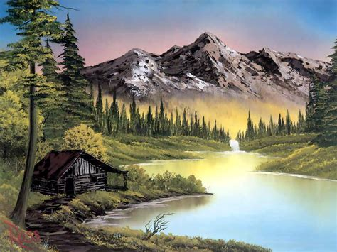 bob ross painting classes in utah نقاشی نقاشی کلیپو کلیپ