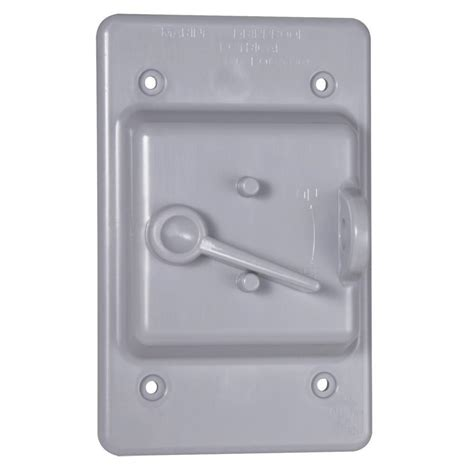 Greenfield Weatherproof Electrical Duplex Outlet Cover Outdoor Light Switch Cover