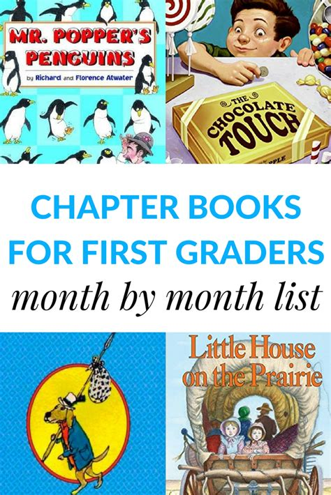 1st grade picture books read aloud chapter books for 1st graders month by month