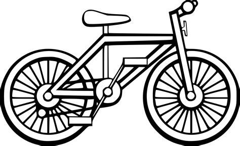 imagenes de bicicletas faciles para dibujar coloriage vtt trial 224 imprimer sur coloriages info