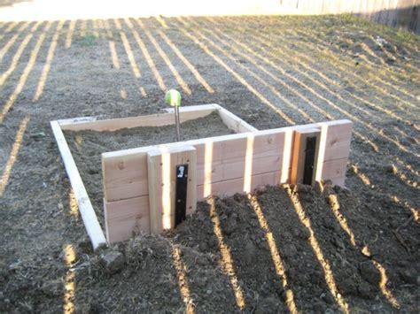diy horseshoe pit how to build a horseshoe pit ninehats