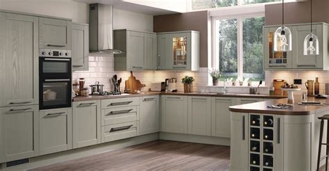 White Shaker Style Kitchen Cabinets kitchens fitted kitchens
