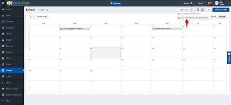 S Calendar Sync How Do I Sync To Calendar Mangoapps Help