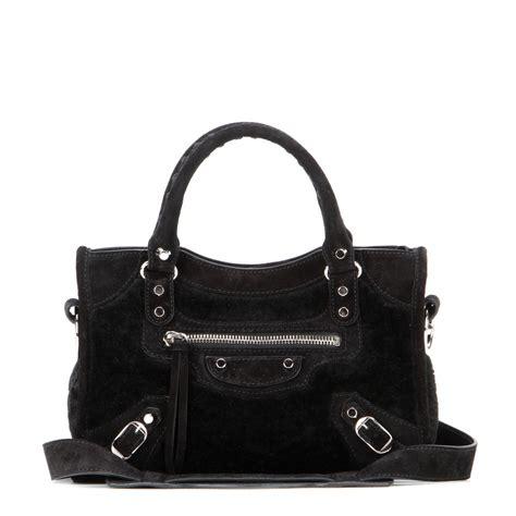 And Balenciaga Bag by Lyst Balenciaga Classic Mini City Shoulder Bag In Black