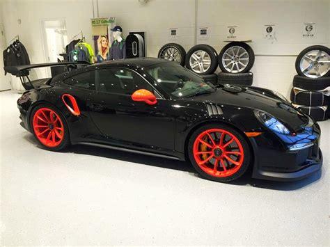 porsche supercar black unique black and orange porsche 911 gt3 rs in illinois