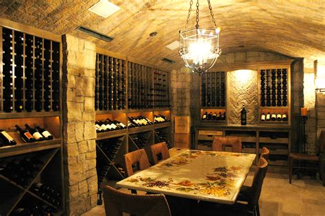 French Style Dining Room by Wine Cellars 171 The French Tradition