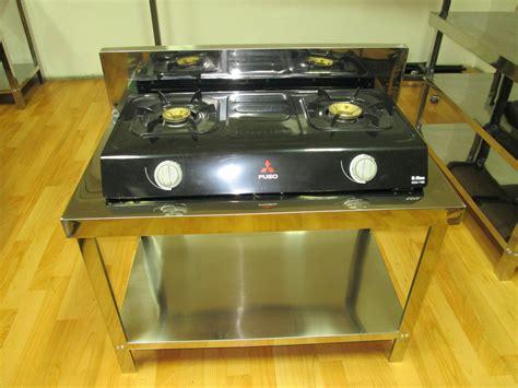Meja Untuk Kompor Gas jual meja kompor gas stainless meja stainless