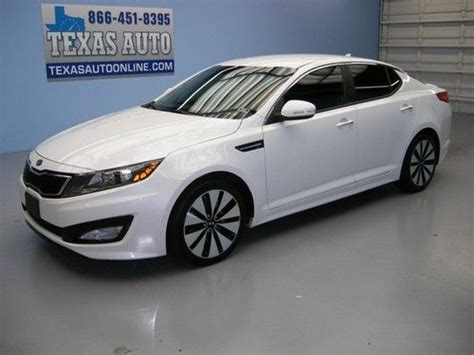 Finance Kia Optima Buy Used We Finance 2012 Kia Optima Sx T Gdi Turbo