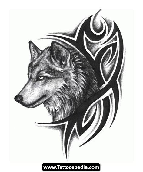 tribal wolf tattoo meaning wolf meaning 13