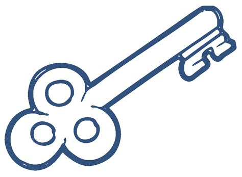 Key Outline Clip Free by Key Images Clip Cliparts Co