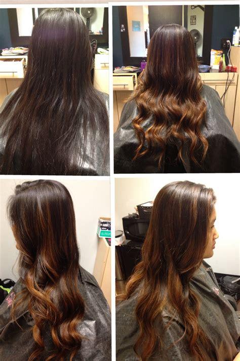 wash hair after balayage highlights before after balayage highlights my work hair