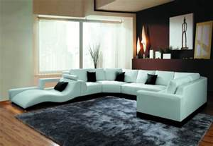 sectional sofa contemporary 2264b modern white leather sectional sofa
