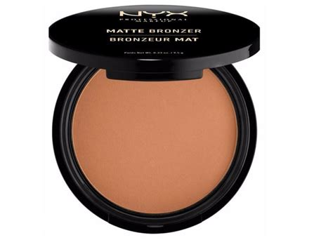 Nyx Bronzer the best matte bronzers you can buy without the shine