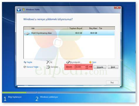 gpt format nedir windows 7 uefi modunda temiz kurulum format enpedi
