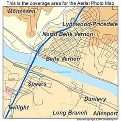aerial photography map of vernon pa pennsylvania