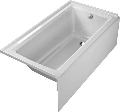30 Inch Bathtub by Duravit 700355 Starck New 60 X 30 Inch Rectangle Base