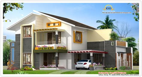 1850 square 4 bhk contemporary budget home design beautiful villa elevation 1850 sq ft kerala home design and floor plans