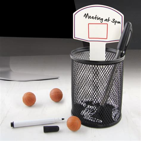 panier basket bureau kit basketball de bureau cadeau insolite
