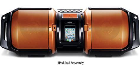 Sharp Portable Boombox Sound System   GX M10   Abt