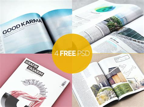 magazine layout design psd free download 20 absolutely free premium psd mockups fonts icons