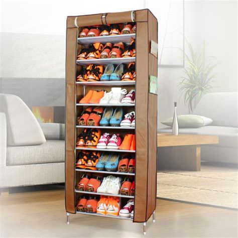 appealing sneaker storage top rack with portable storage