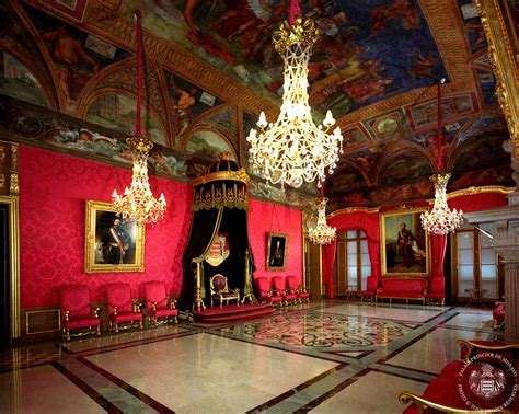 the throne room prince s palace of monaco