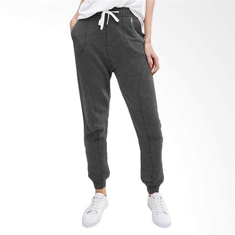 Fashion Celana Jogger jual jfashion rexie jogger celana wanita abu tua harga kualitas