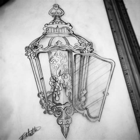 antique tattoos 50 most amazing lantern tattoos stock golfian