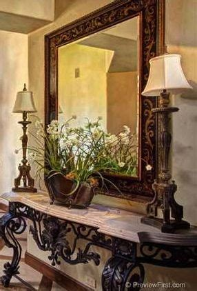 foyer table tuscan style decorating entry foyer 97 best images about tuscan house ideas on pinterest
