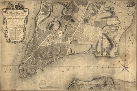 new york 1776 map 1776 map of new york city