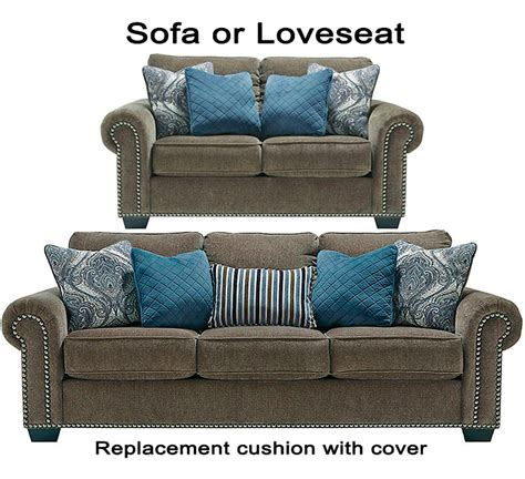 ashley couch cushion replacement ashley 174 navasota replacement cushion cover 8700238 sofa