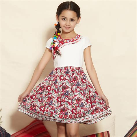 aliexpress models girls chinese traditional teenage dress for teens
