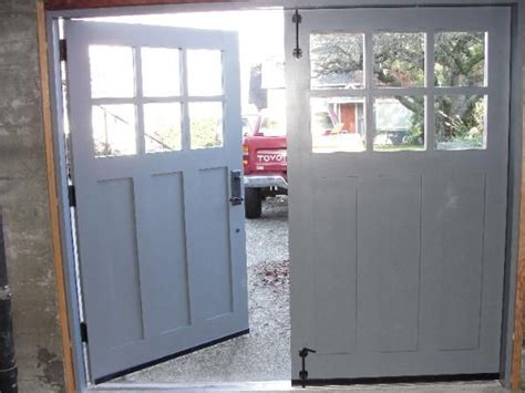 swing garage door best 25 carriage garage doors ideas on pinterest garage