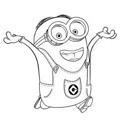 Galerry coloring pages to print for minions