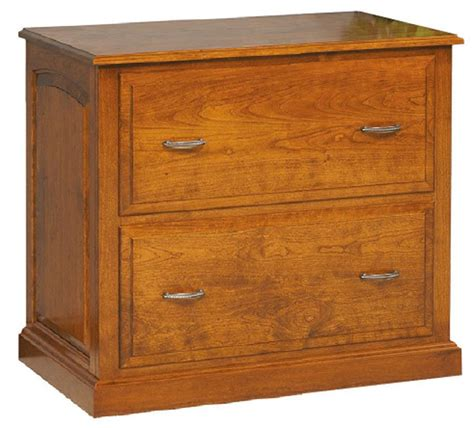 Wood Lateral File Cabinet Amish Solid Wood Lateral File Cabinet