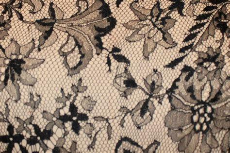 Bill Blass Home Decor by Vintage Bill Blass Black And Ivory Lace And Silk Taffeta