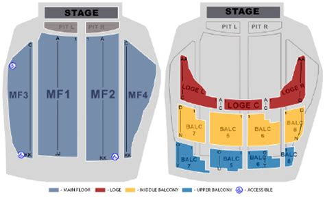 state theater mn seating chart state theatre minneapolis loge seating images