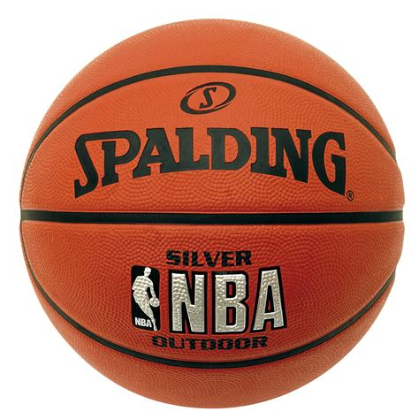 spalding nba basketball spalding nba silver outdoor basketball ebay