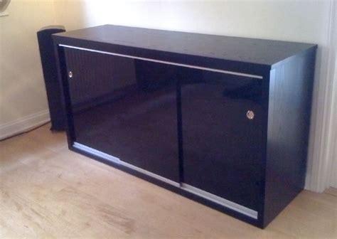 Maple Kitchen Furniture bristol fine furniture hifi cabinet in black ash