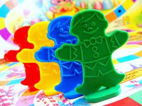 Candy land board game characters