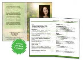funeral programs templates free free funeral program template program template colors and printers