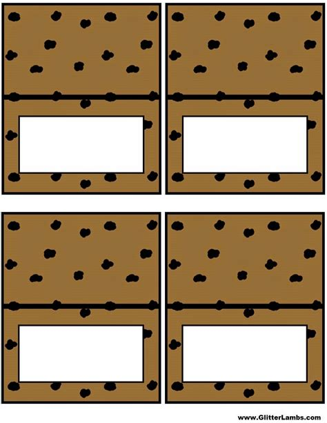 the gallery for gt chocolate chip cookie template printable