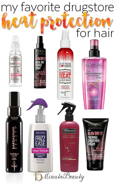 best drugstore curly hair products my favorite drugstore heat protectants for hair