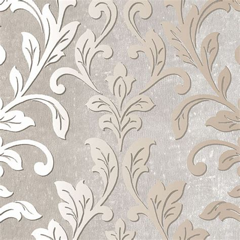 Victorian Home Interior Design by Contemporary Ombre Damask Wallpaper Lelands Wallpaper