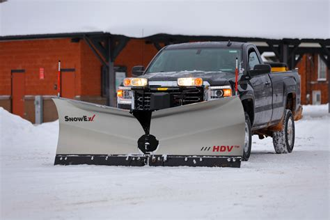 steel and snow snow ex heavy duty stainless steel v plow hdv ss the hitchman inc